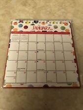 2021 MONTHLY Spiral Flip Calendar Easel Stand Up Desk Top Planner strips 6.5 x 6