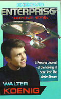 1991 Chekov's Enterprise STAR TREK Book-Walter Koenig-Making of ST:TMP-  UNREAD