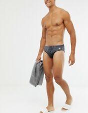 NEW RARE men's Nike swim brief | size 30 | zebra | free shipping