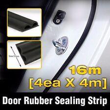 Car Door Auto Noise Rubber Seal Strip Molding 4ea B type For KIA 2011-17 Picanto