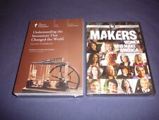 Teaching Co Great Courses DVDs   UNDERSTANDING INVENTIONS CHANGED WORLD  + bonus