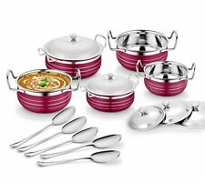 Essentials Stainless Steel Handi Set, 10-Pieces with   !!   free shhiping  !!