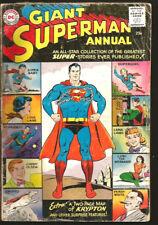 SUPERMAN ANNUAL #1  DC Comics, 1960, 1st print & series ORIGIN OF SUPERGIRL