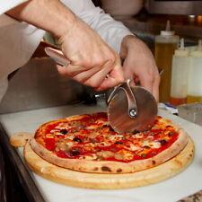 Pizza Cutter Stainless Steel Wheel Roll Slicer Knife Round Kitchen Tool Handheld