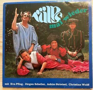 """alte Vinyl-Schallplatte """"Rülps mal wieder"""" Ernst Brandner/ Jürgen Scheller 1971"""