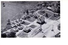 Calais, Maine Tupper's Cabins @ 1940 Aerial View