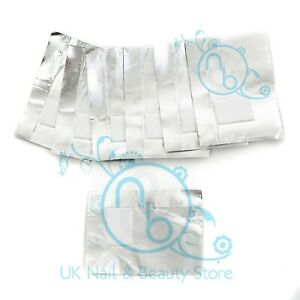 Nail Foil Gel Wraps Polish Removal Soak Off UV LED Acrylic GENUINE UK VAT SELLER