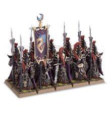 Warhammer Age of Sigmar Dark Elves Black Guard plastic New