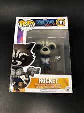 Guardians Of The Galaxy Vol 2 Rocket Raccoon Vinyl Pop Figure Toy #201 Funko