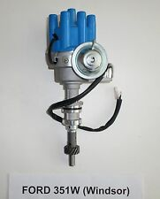 Small Block FORD 351W (WINDSOR) BLUE Female Small Cap HEI Distributor ELECTRONIC