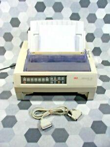 Okidata Oki Microline 590 Dot Matrix Printer GE5293A 24 pin printer
