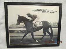 1956 Photo Flamingo Stakes Winner Needles & Jockey Dave Erb Won Kentucky Derby