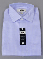 Joseph Abboud Men's L/S Classic-Fit Dress Shirt MC7 Blue Check Size 17 34/35 NWT