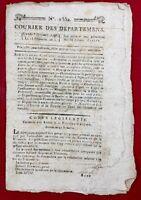 Angers en 1796 Chouans Bonaparte à Rome Armée d'Italie Dijon Strasbourg Mulhiem