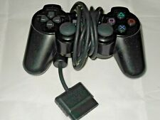 Genuine Official Sony PlayStation 2 PS2 DualShock 2 Black Controller Tested