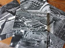 Casa Cordoniu 1950s Set of 10 Vintage Postcards with Importers Label, Excellent