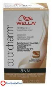 BL Wella Color Charm Liquid #8Nn Intense Light Blonde 1.4 oz - Two PACK