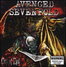 AVENGED SEVENFOLD - CITY OF EVIL CD ~ 2000's HEAVY METAL *NEW*