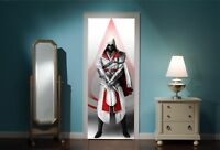 Door Mural assassin's creed View Wall Stickers Decal Wallpaper 332