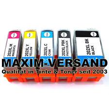 5 Druckerpatronen kompatibel zu Epson 202 XL Expression Premium XP-6000 XP-6005