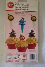 Wilton Big Top Candy Pick Mold Birthday Circus Animal New