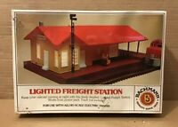 BACHMANN 3014 Lighted Freight Station HO Scale Building Kit MINT Factory Sealed