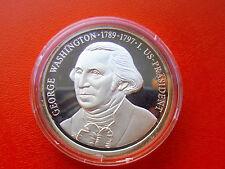 * Medaglia argento ca. 17 GR (999) ARGENTO * George Washington