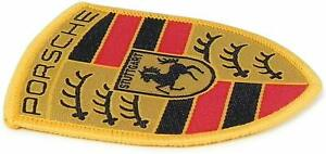 Original Porsche Patch Arms Porsche Design Drivers Selection Approx. 6x5cm