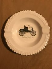 Vintage The Harker Pottery Co Ashtray First Packard Automobile 1899