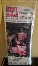 "Best of Breed Pekingese Flag 28"" x 40""indoor outdoor dog flag"