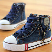 Kinder Schuhe Für Jungen Jeans Sneakers Sportschuhe Stiefel Boots Kinderschuhe
