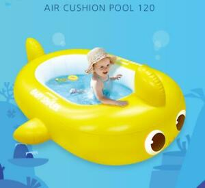 (Pinkfong) Baby Shark  Air Cushion Swimming Pool 47.2in*32.6in*11.8in