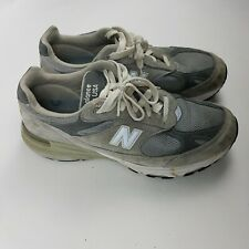 New Balance 993 Made in the USA Mens Gray Athletic Sneakers - Size 10