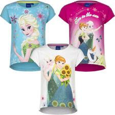 128GB Kurzarm Mädchen-T-Shirts & -Tops Elsa Größe