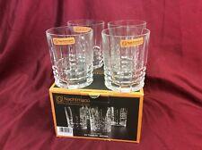 Nachtmann Fine Bavarian Crystal Whisky Glasses x 4, new in box