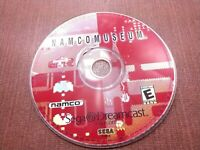 Sega Dreamcast Disc Only Tested Namco Museum Ships Fast