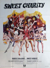 SWEET CHARITY - FOSSE / MACLAINE / CABARET / LEGS - ORIGINAL LARGE MOVIE POSTER