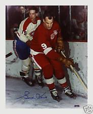GORDIE HOWE SIGNED AUTOGRAPH REPRINT PHOTO NHL DETROIT RED WINGS HOF MVP LEGEND