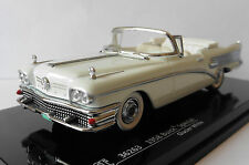 BUICK SPECIAL CONVERTIBLE 1958 GLACIER WHITE VITESSE 36263 1/43 WEISS BIANCA