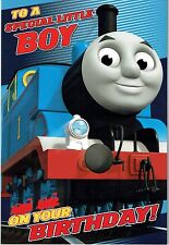 TO A SPECIAL LITTLE BOY - POP-UP - official THOMAS AND FRIENDS Birthday Card