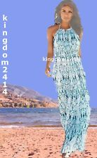 New Womens White & Blue Maxi NEXT Dress Size 10 Tall RRP £50