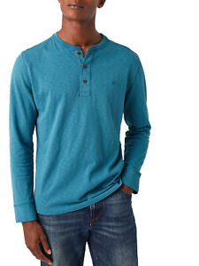 NEW White Stuff Teal Mens Pure Cotton Penland Henley Top S, M, L, XL  RRP £35