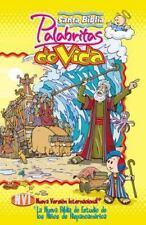 Santa Biblia palabritas de vida NVI: La nueva Biblia de estudio de los niños de