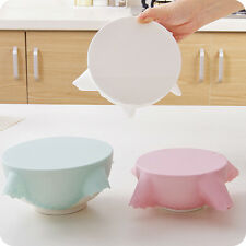 Reusable Silicone Kitchen Food Wrap Seal Bowl Cover Strech Food Fresh Keeping