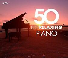 50 Best Relaxing Piano - Various Artists (NEW 3CD)