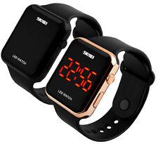 Armbanduhr Sport Fashion LCD Digital Datum Kinder Sport Armbanduhr Wasserdicht
