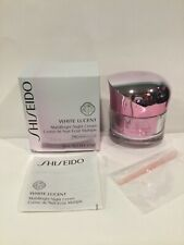 Shiseido White Lucent MultiBright Night Cream 1.7oz./50ml. New Sealed in Box!