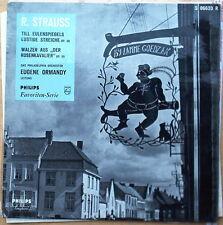 "Rare Original Richard Strauss Til Eulenspiegel  Dutch Philips 10"" Eugene Ormandy"