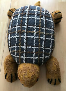 Vintage BRENDATOYS Stuffed Turtle Made in England For Creative Playthings