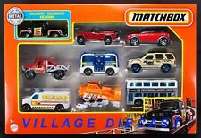 2021 Matchbox 9-Pack w/Exclusive 1956 Ford F-100 BLACK / Two-Story Bus / MIB